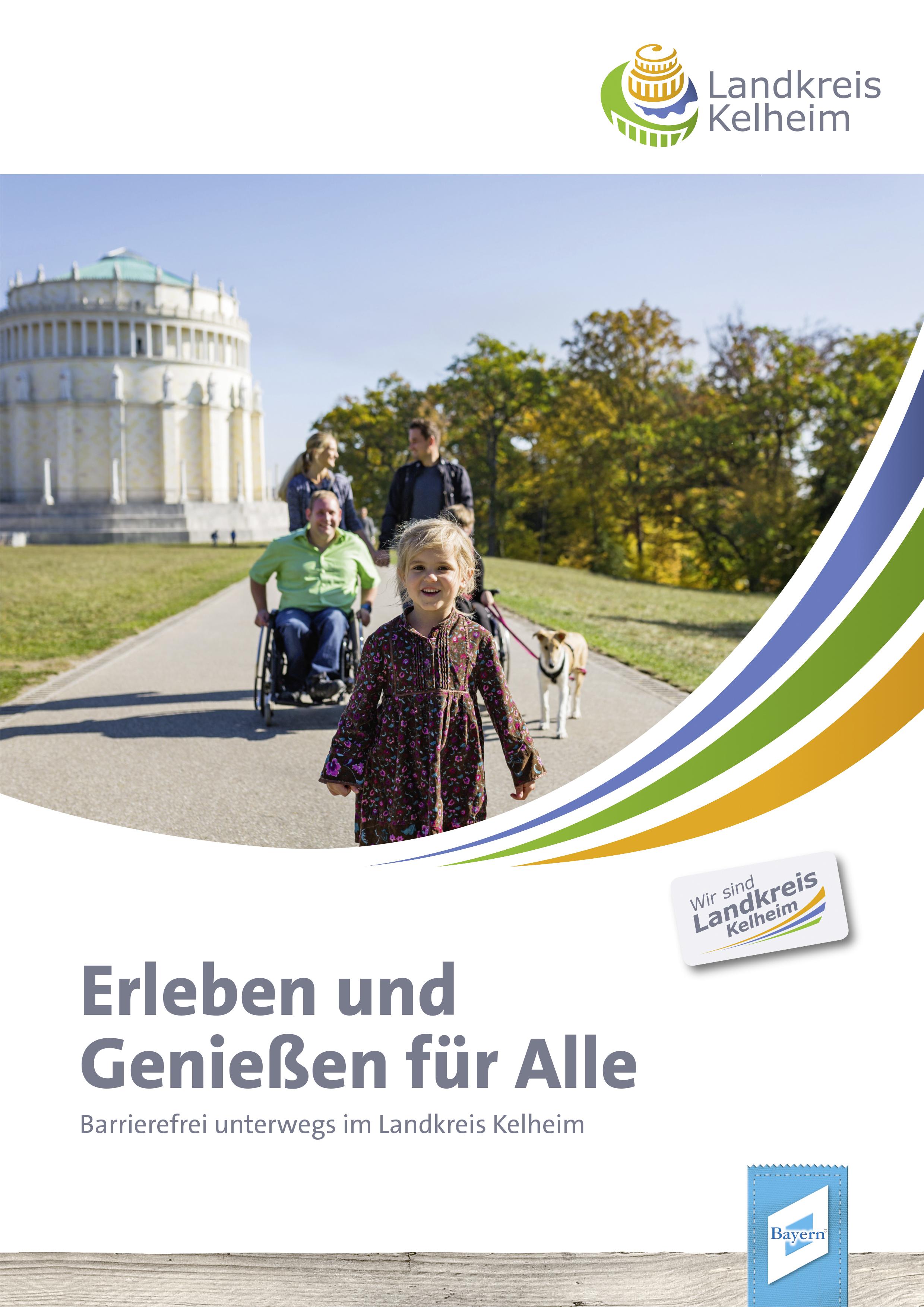 """Titelbild Broschüre """"Erleben und genießen für Alle"""""""