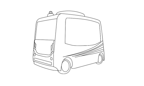 Autonomer Elektro-Bus in Kelheim, Weltenburg und Abensberg