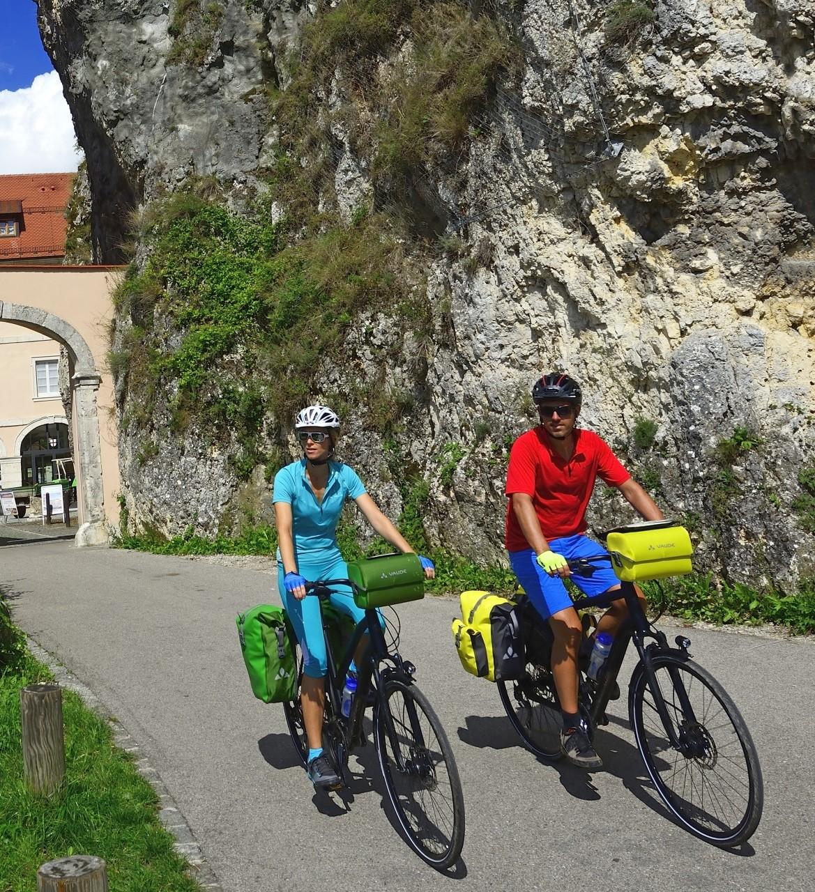 Radtour zum Kloster Weltenburg