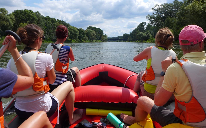 Boostwandern auf der Donau