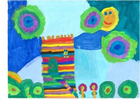 Malwettbewerb Hundertwasser, Elise S.