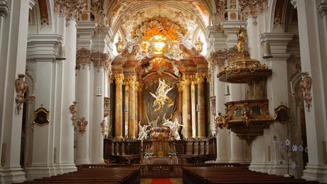 Hochaltar der Klosterkirche Rohr i.NB
