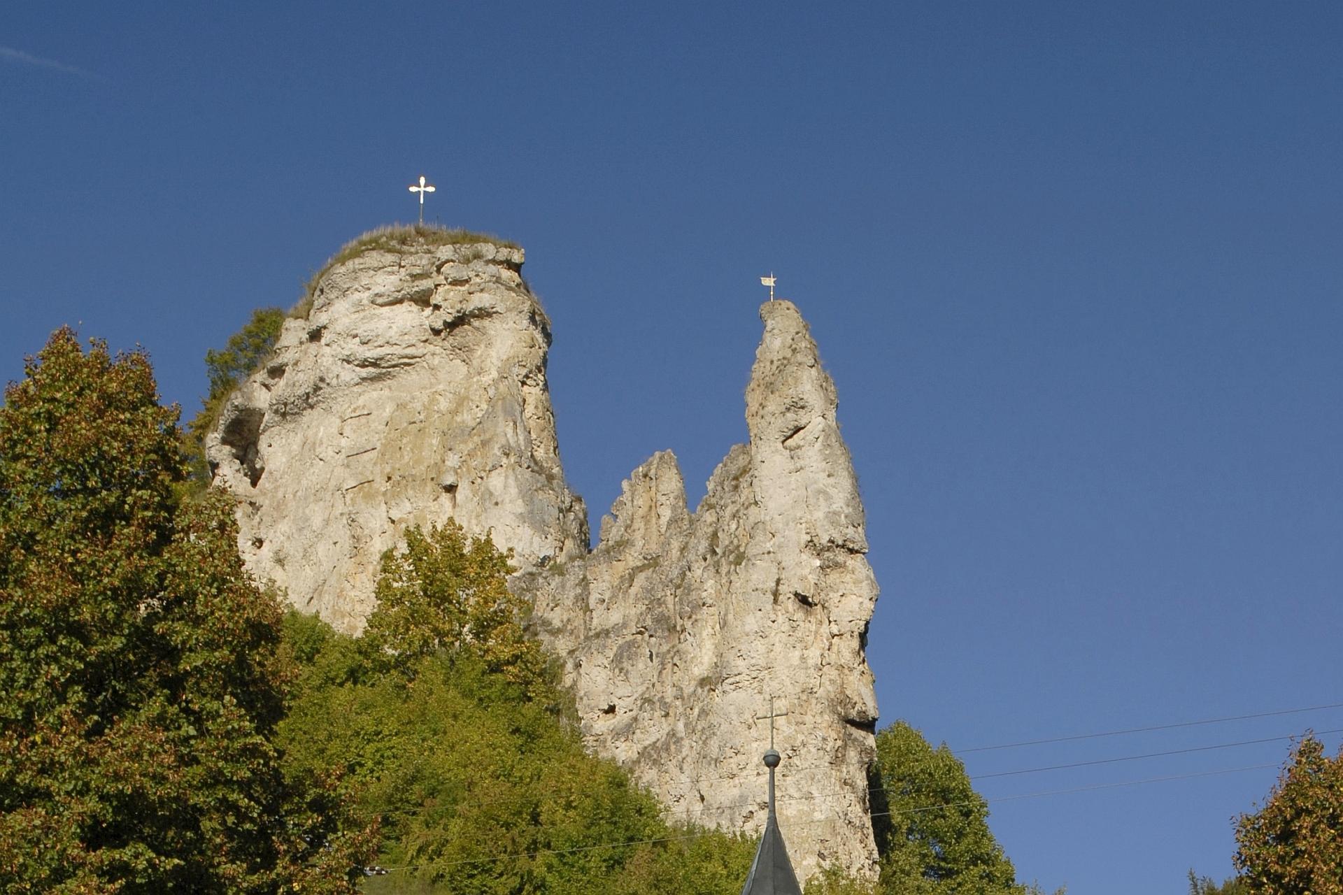 Burgruine Flügelsberg in Riedenburg
