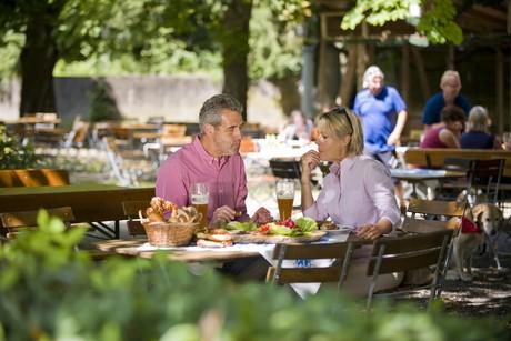 Die Gastronomie in Riedenburg im Altmühltal sorgt für Ihr leibliches Wohl.