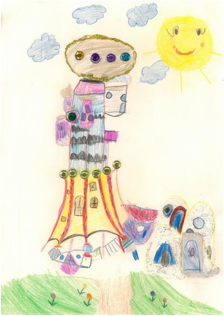 Malwettbewerb Hundertwasser, Emilia J.