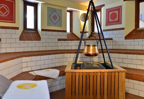Caldarium der Römer-Sauna in der Limes-Therme Bad Gögging