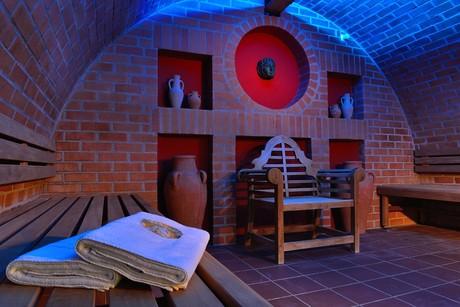 Turmsauna der Römer-Sauna in der Limes-Therme Bad Gögging