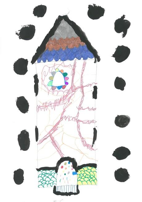 Malwettbewerb Hundertwasser, Sophia R.
