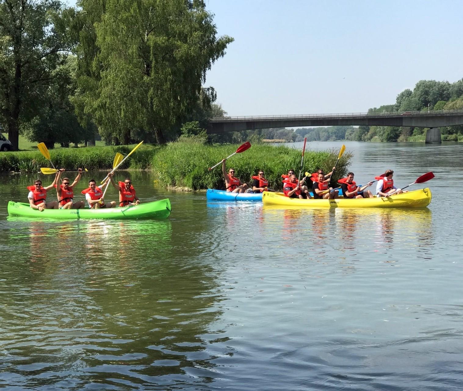 Erlebnismax - Kanutouren auf der Donau und mehr
