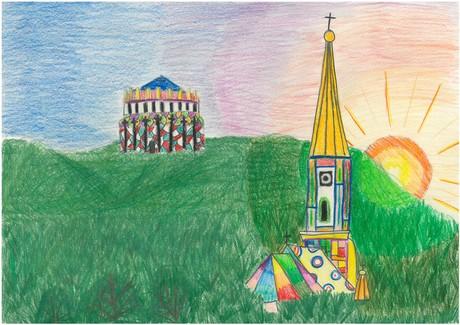 Malwettbewerb Hundertwasser, Veronika D.