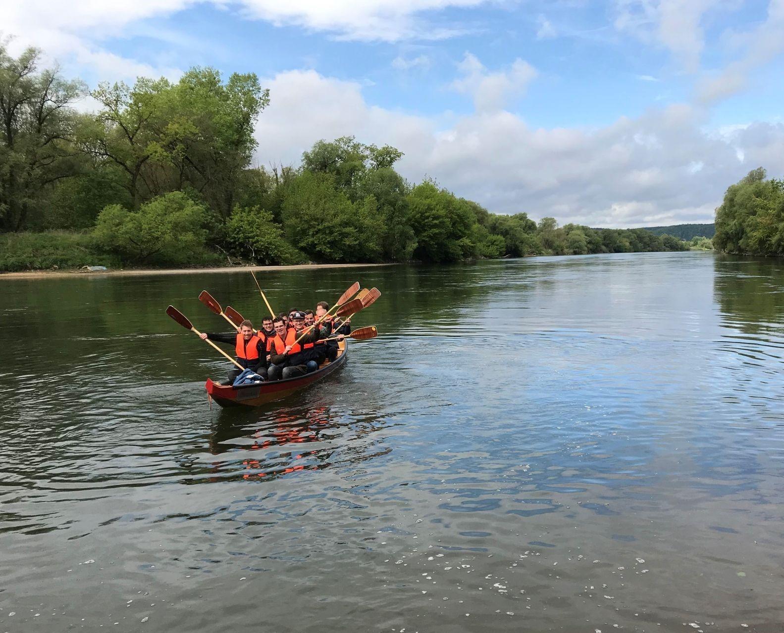 Bootswandern auf der Donau zwischen Vohburg und Bad Abbach