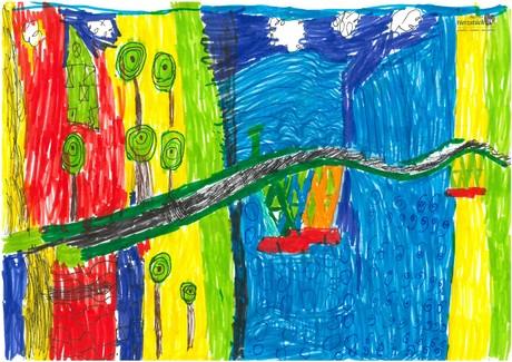 Malwettbewerb Hundertwasser, Simon K.