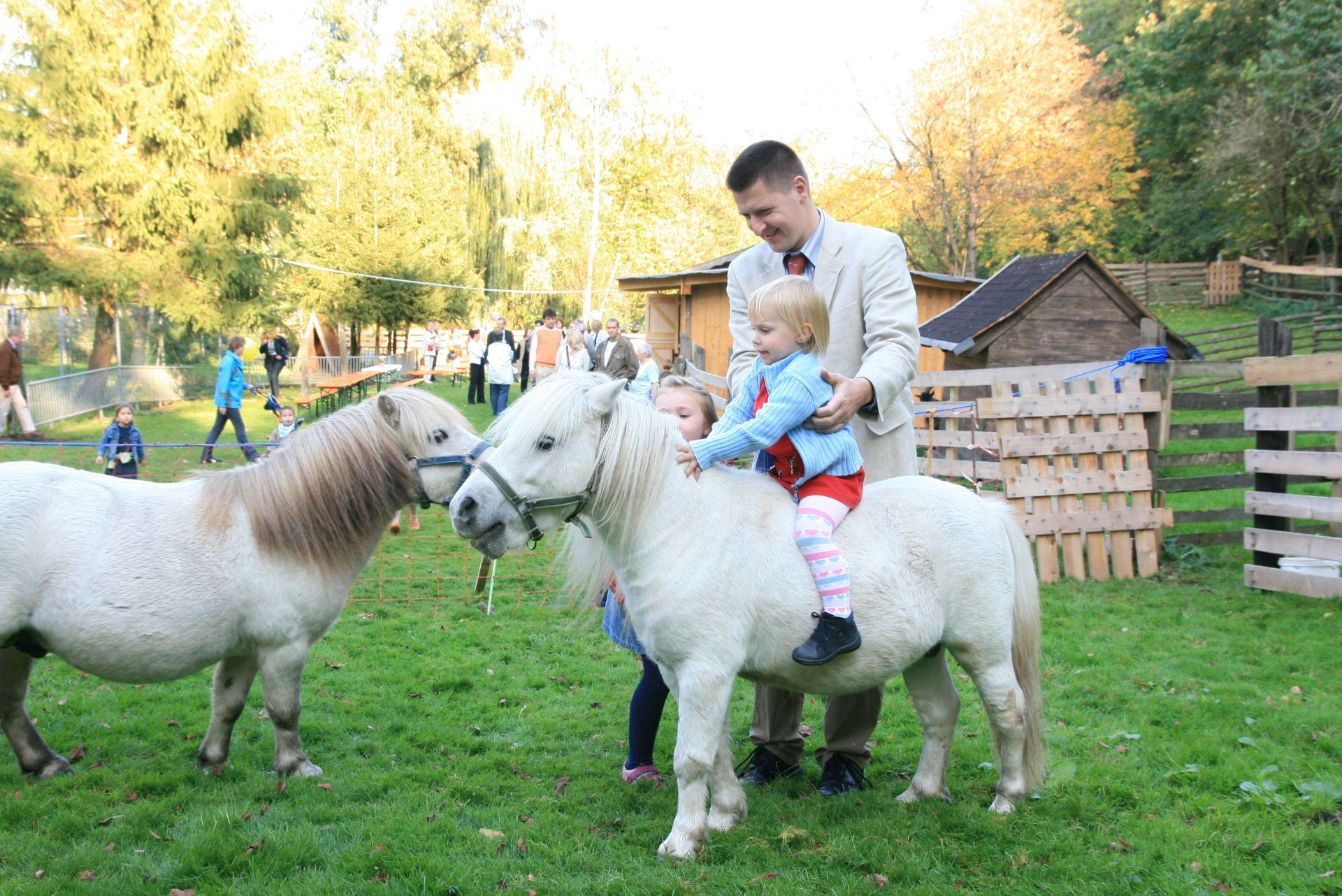 Tiergehege im Kurpark Bad Abbach