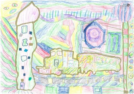 Malwettbewerb Hundertwasser, Levin M.