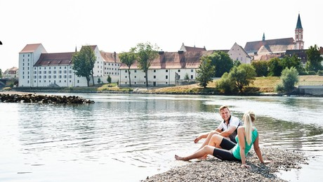 Donaustrand in Straubing