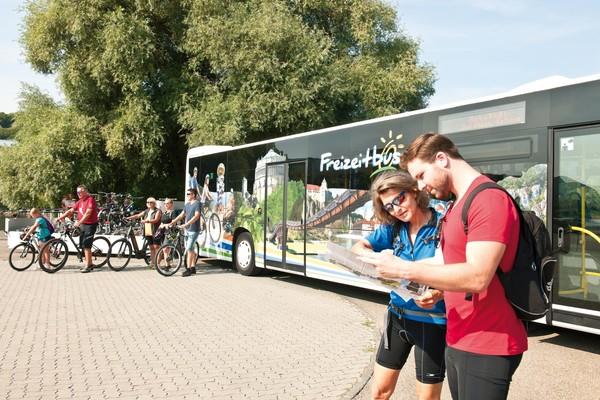 Freizeitbus in Bayerns Herzstück