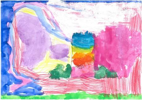 Malwettbewerb Hundertwasser, Marie H.