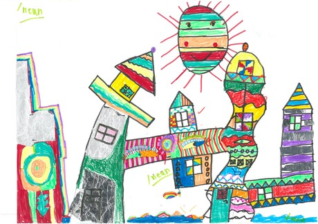 Malwettbewerb Hundertwasser, Konrad B.