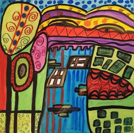 Malwettbewerb Hundertwasser, Konstantin R.