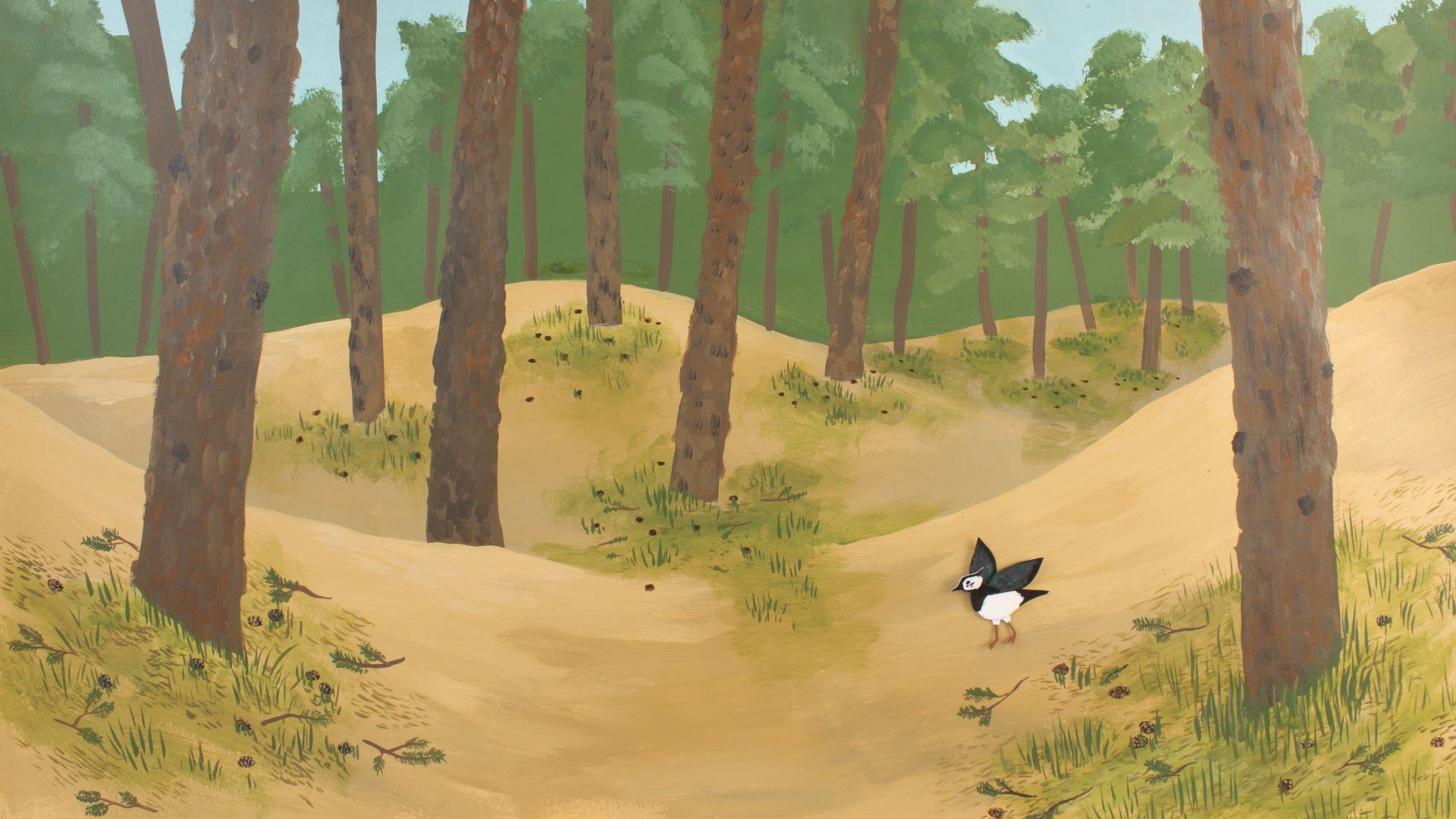 Ausschnitt aus Erklärvideo Abensberg