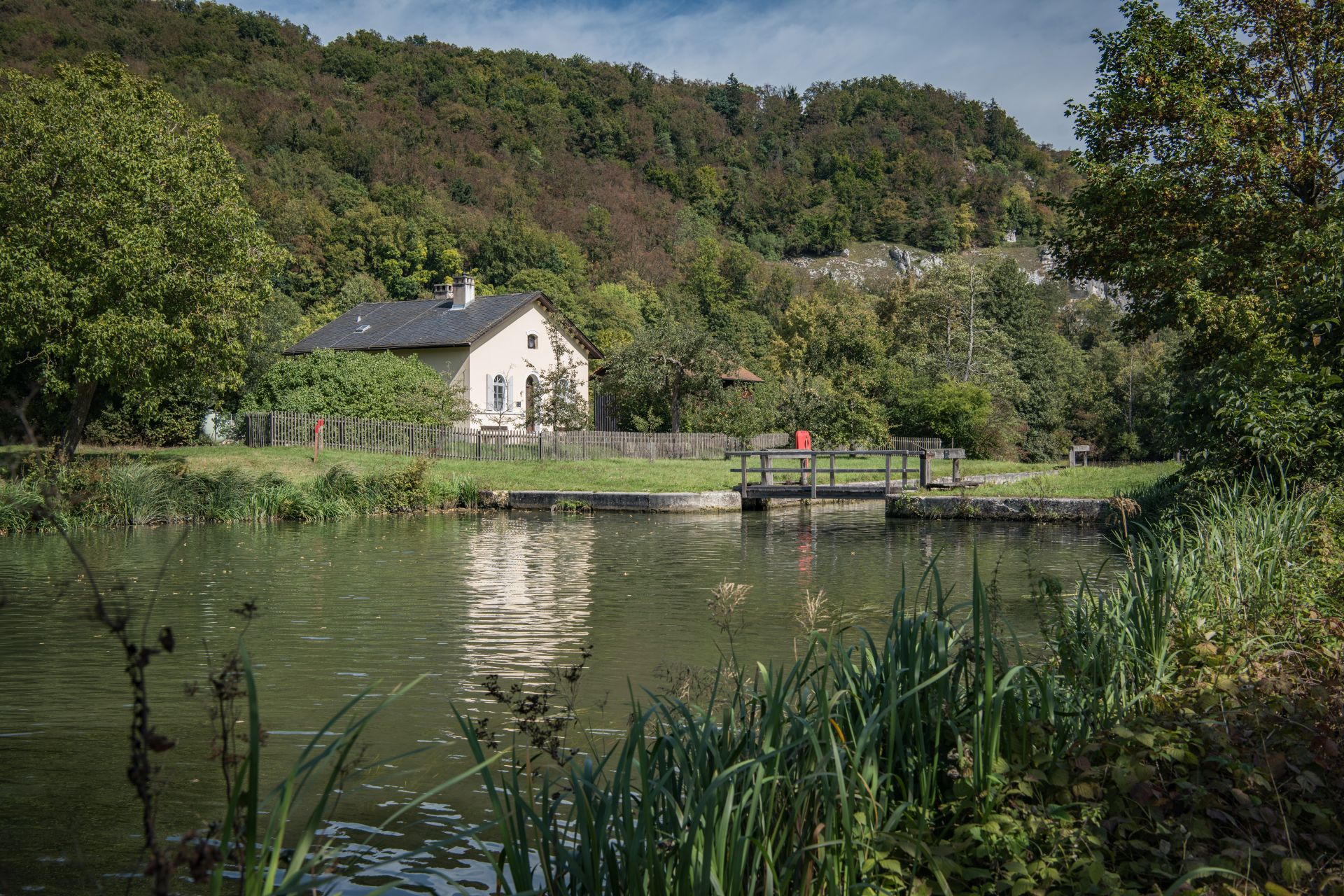 Nostalgie am alten Kanal bei Essing im Altmühltal