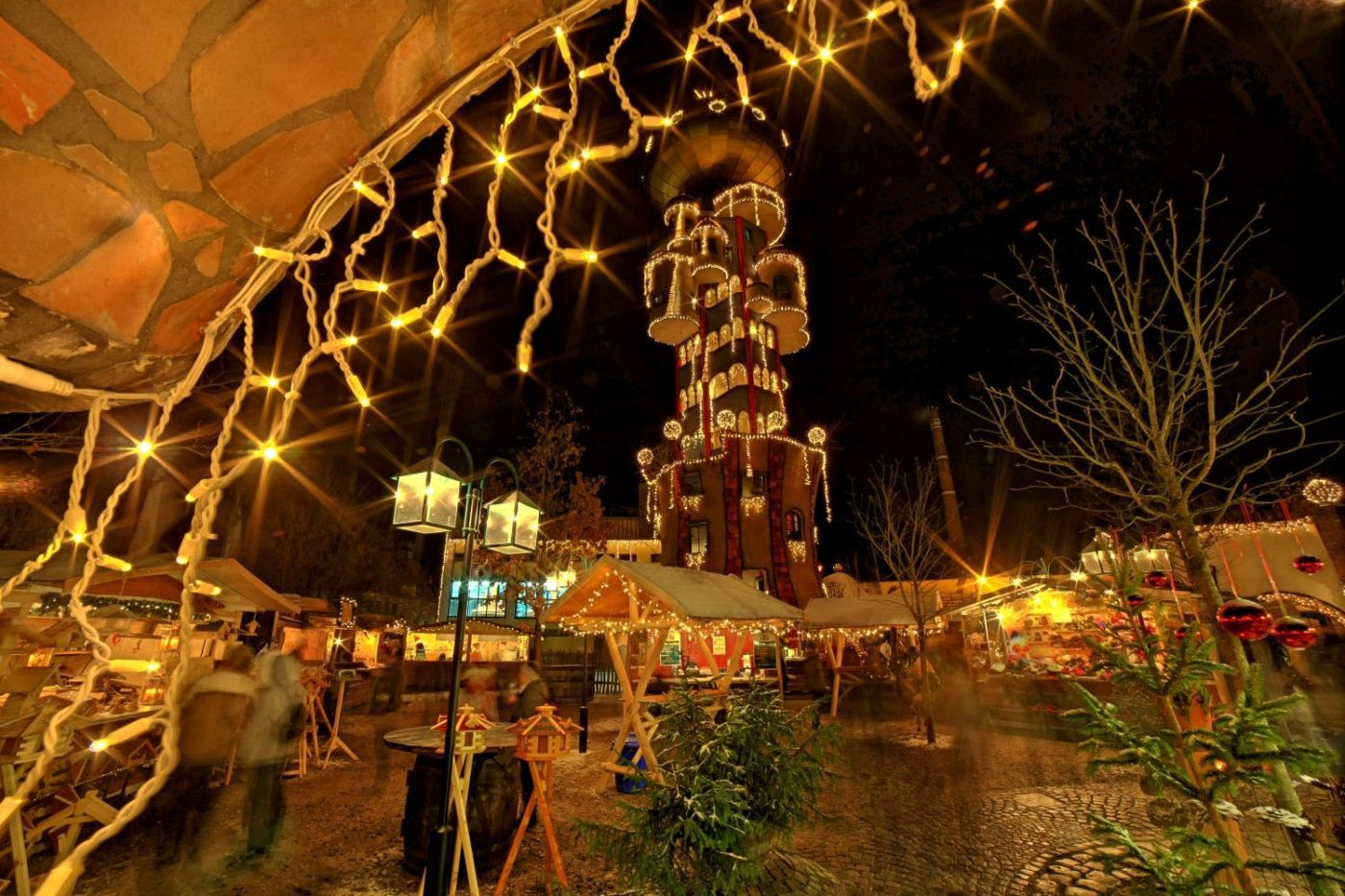 Kuchlbauers Turmweihnacht in Abensberg