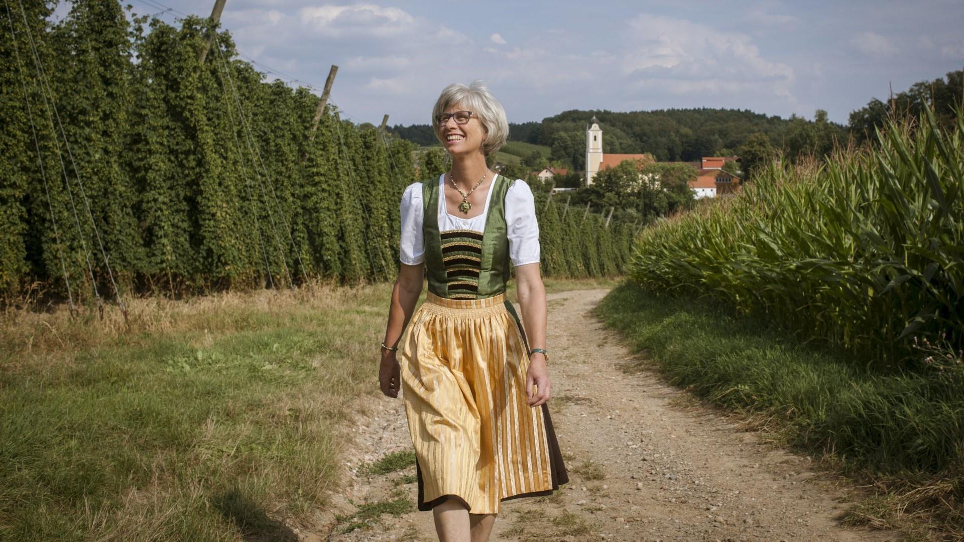 Hopfenbotschafterin Elisabeth Stiglmaier