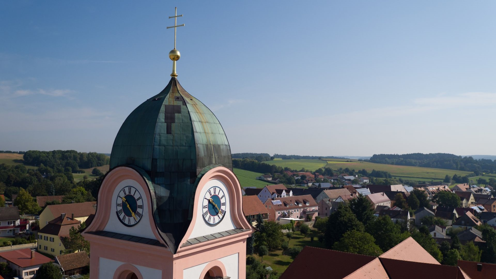 Klosterkirche Rohr im Hopfenland Hallertau