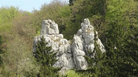 Die Felsen Peter und Paul