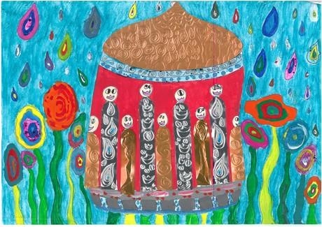 Malwettbewerb Hundertwasser, Marlene B.