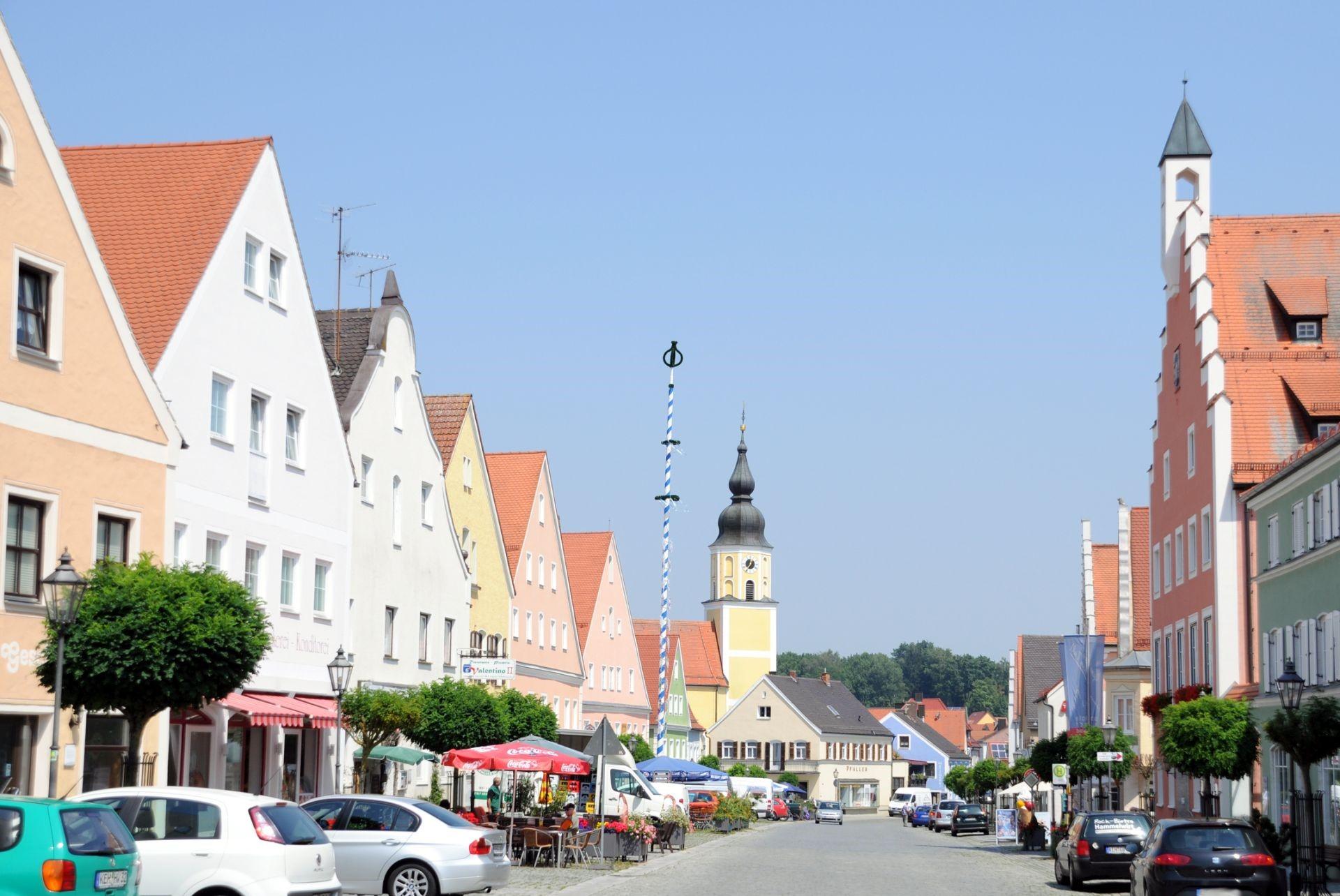 Marktplatz Langquaid
