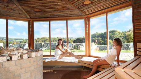 Panorama-Sauna in der Kaiser-Therme Bad Abbach