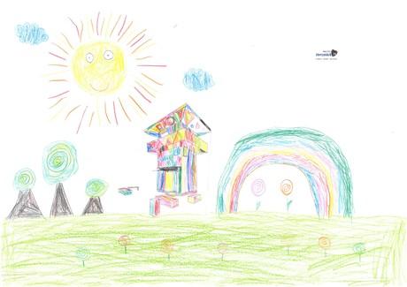 Malwettbewerb Hundertwasser, Antonia K.