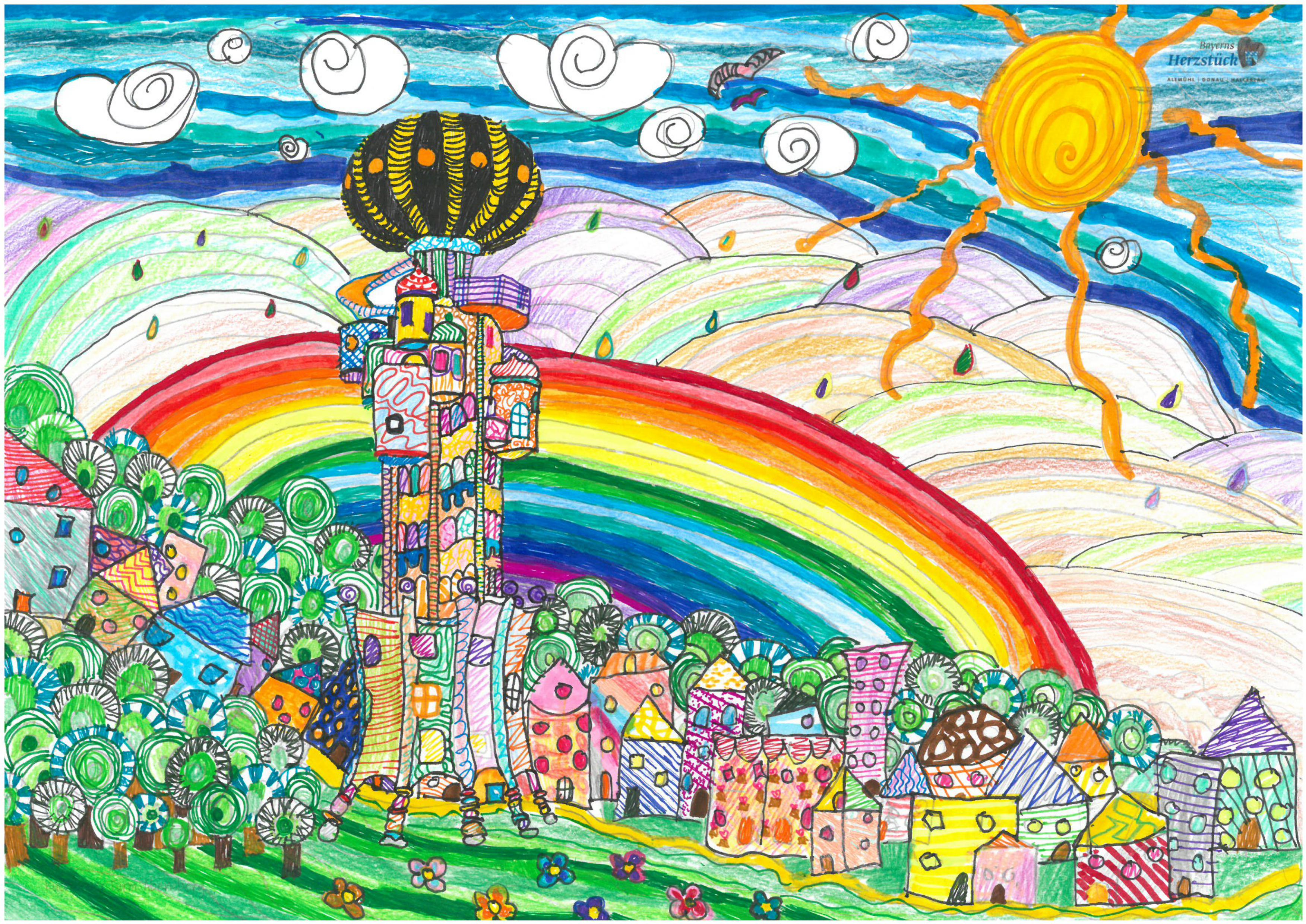 Malwettbewerb Hundertwasser, Liliana K.