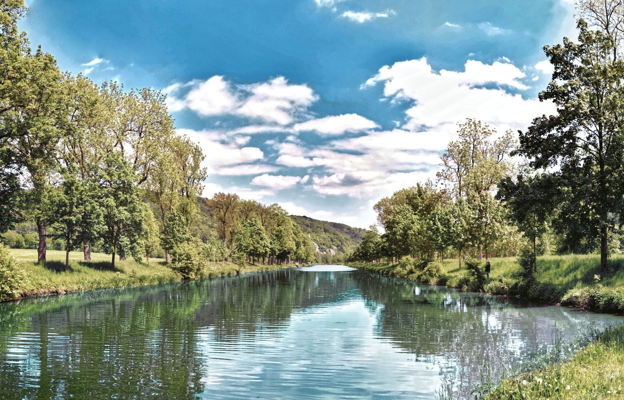 Am alten Ludwig-Donau-Main-Kanal bei Essing