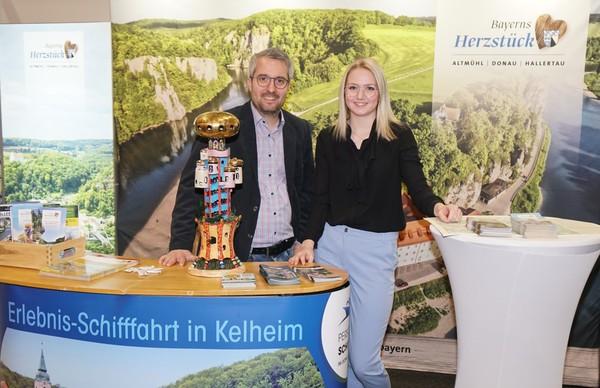 Tourismusverband im Landkreis Kelheim e.V. präsentiert Bayerns Herzstück-Region auf überregionalen Messen