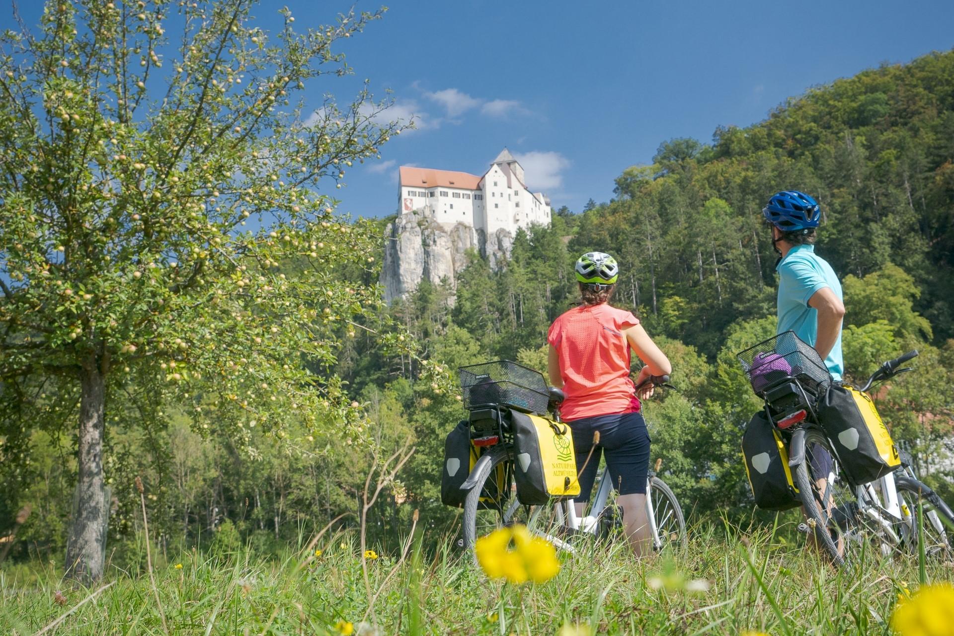 Radfahren im Altmühltal zwischen Riedenburg und Kelheim