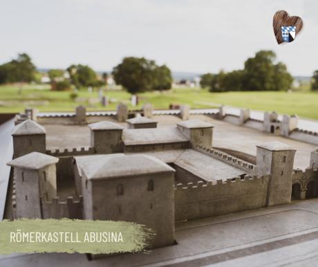 Römerkastell Abusina bei Eining