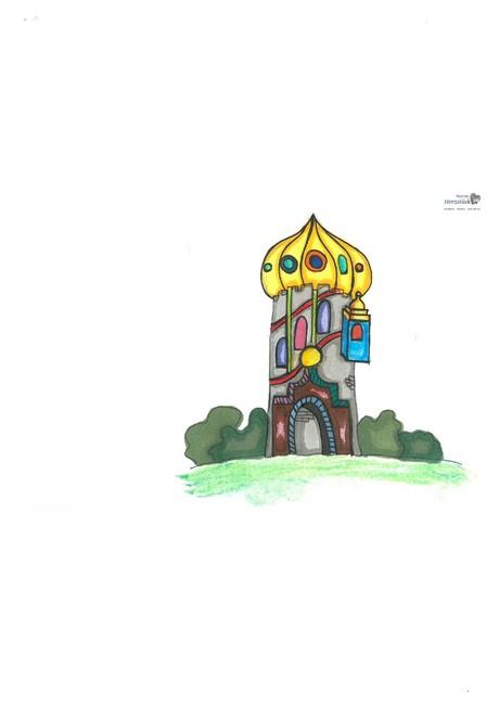 Malwettbewerb Hundertwasser, Julia H.