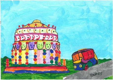 Malwettbewerb Hundertwasser, James C.