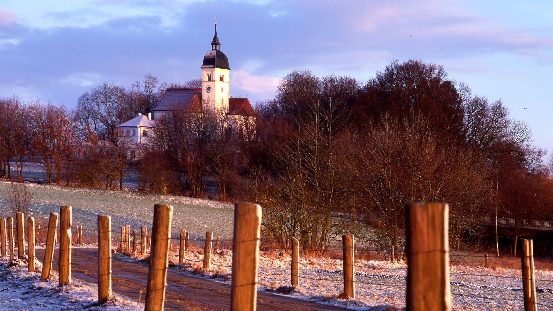 Blick auf Allersdorf