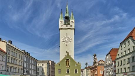 Der Stadtturm in Straubing