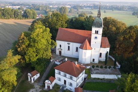 Allersdorfer Kirche Drohne