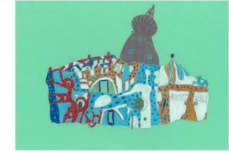 Malwettbewerb Hundertwasser, Amelie P.