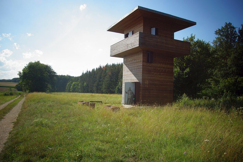 Limeswachtturm bei Hienheim