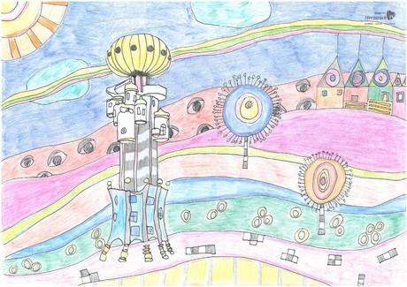 Malwettbewerb Hundertwasser, Stella M.