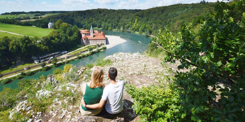 Wanderung im Naturschutzgebiet Weltenburger Enge zum Kloster Weltenburg