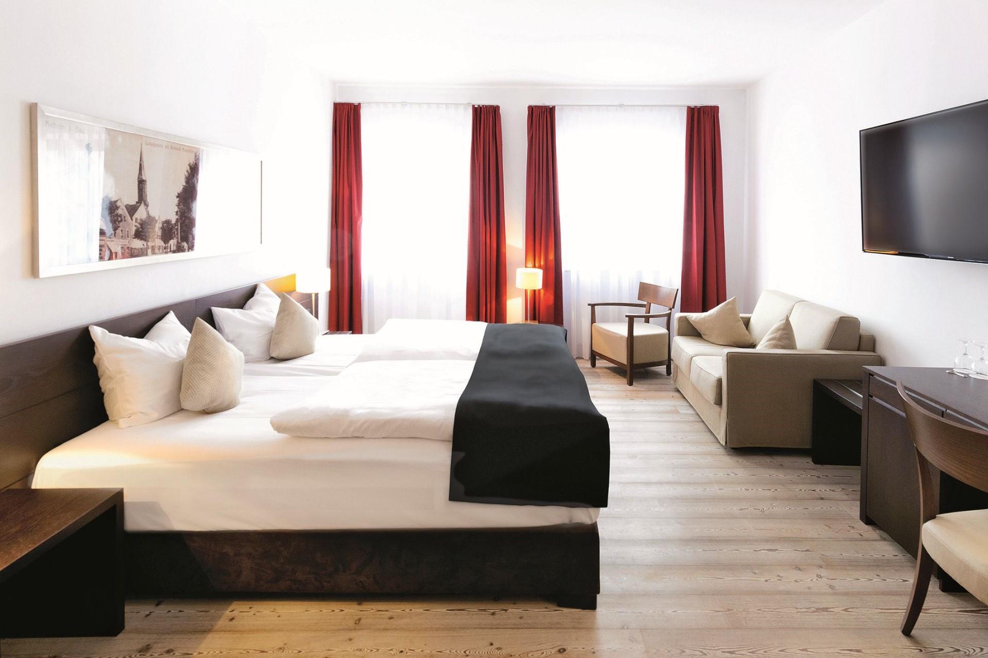 Doppelzimmer im Dormero Hotel in Kelheim im Altmühltal