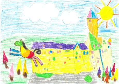 Malwettbewerb Hundertwasser, Magdalena F.