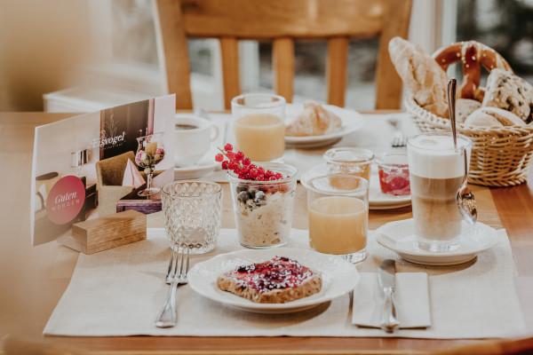 Genuss-Frühstück beim Eisvogel in Bad Gögging